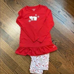 American Girl Christmas pajamas size M 10/12